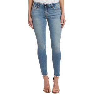 Joe's Jeans Hi Rise Skinny Chew Hem Ankle Jean 26